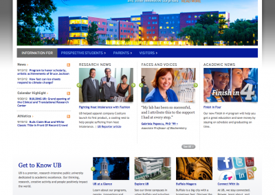 University at Buffalo Pilot Web Project